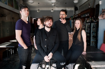 Canvas / local Toronto band photographed at Pharmacy