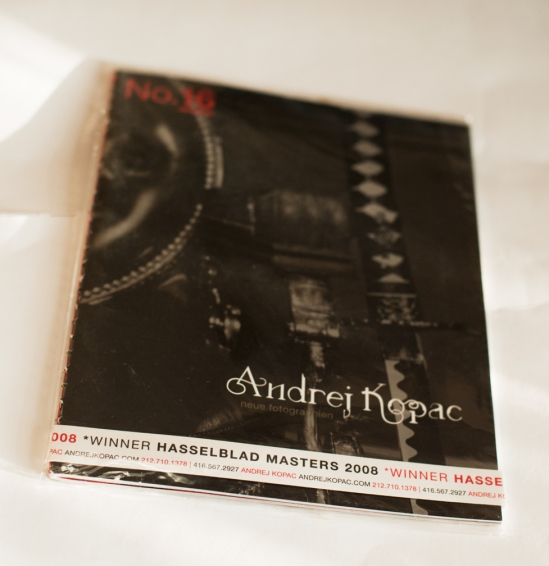 Andrej Kopac / Photographer's book