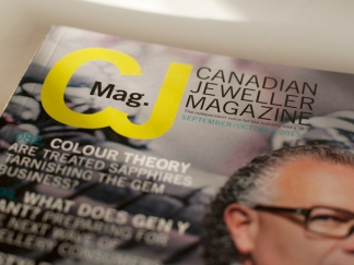 CJ Magazine / Redesign + Logo