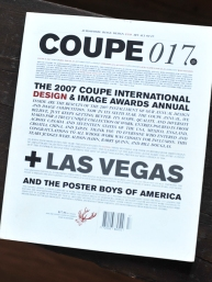 Coupe No.17 / Cover / International Design + Image Awards Annual / 2007
